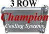 1967 - 1969 Camaro Aluminum Radiator for Big Block, 3 Row 23 Inch