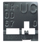 1967 - 1968 Radiator ID Tag, UC, Manual Transmission