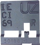 1969 Camaro Radiator ID Tag, UZ Code Automatic Transmission with Curved Neck