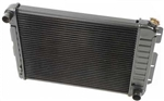 1967 - 1969 Camaro 3 Core Row w/ Factory AC Small Block OE Style Radiator for Manual Trans, 23 Inch