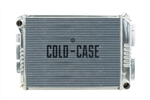 "1967 - 1969 Camaro COLD-CASE Big Block 23"" Aluminum Radiator for Manual Trans"