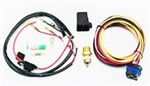 Camaro COLD-CASE Electric Fan Relay, Thermoswitch Sensor and Wiring Kit