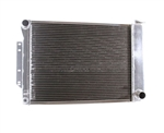1967 - 1969 BB Big Block Aluminum Radiator, Griffin Performance Exact Fit Unit Combo Kit with Shroud and Fans.
