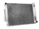 1967 - 1969 Camaro Aluminum Radiator, Griffin Performance Exact Fit Unit, Big Block Automatic Transmission