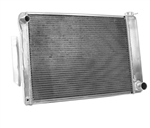 1967 - 1969 Camaro Aluminum Radiator, Griffin Performance Exact Fit Unit, Small Block Manual Transmission