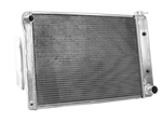 1967 - 1969 Camaro Aluminum Radiator, Griffin Performance Exact Fit Unit, Small Block Automatic Transmission