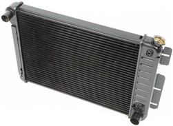 1967 - 1969 3 Core Row Camaro Big Block OE Style Radiator for Automatic, 23 Inch