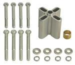 1967 - 1981 Camaro Engine Cooling Fan Spacer Kit, 2.25""