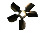 1967 - 1968 Camaro Engine Cooling Fan Blade, Original 5 Blade Style