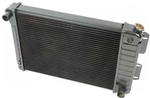 1967 - 1969 4 Core Row Camaro Big Block OE Style Radiator for Automatic, 23 Inch