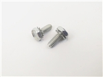 1968 - 1969 Rally Sport Headlight Door Stop Bracket Screw Set, Both Sides