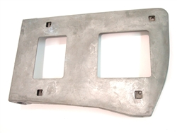 1967 - 1968 Camaro Rally Sport Headlight Door Backing Plate Square Design LH, GM NOS