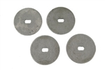 1967 Rally Sport Headlight Motor Washer Set, 4 Pieces