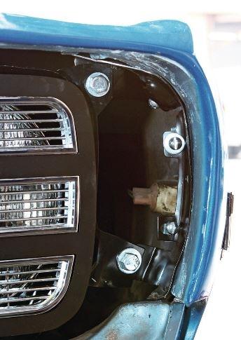1969 Camaro Rally Sport Fender Conversion Adapter Brackets