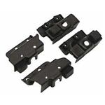 1967 Camaro Rally Sport Headlight Limit Switch Bracket Set, 4 Pieces