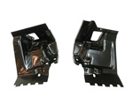 1970 - 1973 Camaro Firewall and Body Mount Brackets Set, Lower Panels to Subframe Mounting, Pair