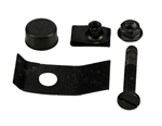 1970 - 1981 Camaro Rear Cowl Panel Center Hood Adjustment Bolt and Bumper Kit