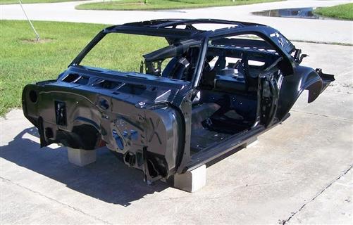 1969 Camaro Body Shell Skeleton Kit Coupe