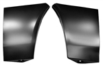 1978 - 1981 Camaro Fender Extensions Without Side Marker Light Hole, Pair