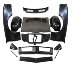 1968 Camaro Front Sheet Metal Kit with STANDARD Fenders and Super Sport SS Hood