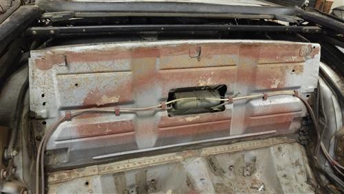 1967 1969 Camaro Rear Seat Trunk Divider Panel Convertible