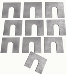 Front End Shims Set, 1/16 Inch Thick, 10 Pieces