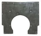 1967 - 1969 Camaro Molded Hood Insulation Pad for Cowl Induction, OE Style