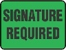 SIGNATURE REQUIRED (Direct Signature)