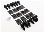 1970 - 1973 STD & RS Front Spoiler Hardware Set with Bolts, Clip Nuts and Screws