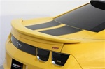 2010 - 2014 Rear Spoiler, Custom, Black, Paintable