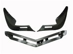 1974 - 1977 Camaro Lower Front Spoiler Set, 3 Pieces