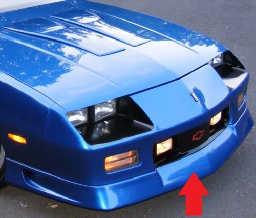1991 1992 camaro front spoiler ground effect usa made aloadofball Image collections