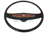 1970 Camaro Steering Wheel, Deluxe Woodgrain with Bowtie Emblem, GM Used