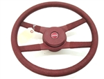 1970 - 1981 Camaro Steering Wheel with Ribbed (Roped) Outer Grip, 4 Bar, GM Used 9761838