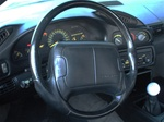 2000 - 2002 Steering Wheel, Leather