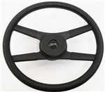 1970 - 1981 NEW 9761838 Camaro 4-Bar Rope Steering Wheel Kit with BLACK Z28 Horn Button 459033, Now Available