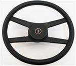 1970 - 1981 NEW 9761838 Camaro 4-Bar Rope Steering Wheel Kit with RED, WHITE & BLUE SHIELD Horn Button 332649, Now Available.