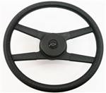 1970 - 1981 NEW 9761838 Camaro 4-Bar Rope Steering Wheel Kit with BLACK WITH SILVER BOWTIE Horn Button 329742, Now Available.