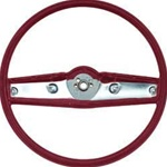 1969 Camaro Steering Wheel, Standard, Red, 3939733