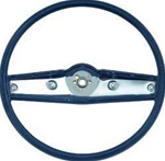 1969 Camaro Steering Wheel, Standard, Dark Blue, 3939732