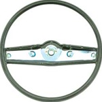 1969 Camaro Steering Wheel, Standard, Dark Green, 3939735