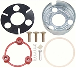 1970 - 1981 Camaro Horn Cap Kit Mounting Contact Set, 4-Bar Style