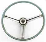 1968 Camaro Steering Wheel, Deluxe Interior Turquoise, GM Used