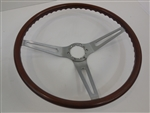 1969 Rose Wood Grain Steering Wheel - Orignal GM Used