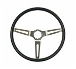 1967 - 1989 Steering Wheel, Comfort Grip, Black, 14 Inch Diameter
