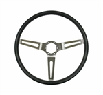 1967 - 1989 Steering Wheel, Comfort Grip, Black 15 Inch Diameter