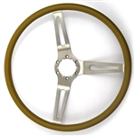 1967 - 1989 Camaro NK1 Small Comfort Grip Steering Wheel, Tan