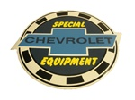 Window Decal, Chevrolet Special Equipment, 6 Inch Diameter
