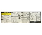 1988 - 1991 Instruction Information Decal, Trunk Jack