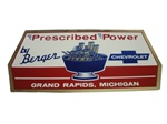 Decal, Prescribed Power By Berger Chevrolet, Grand Rapids, Michigan